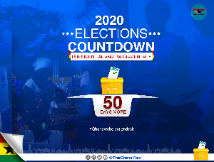 Ghana is 50days away from its general elections