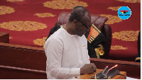 Finance Minister, Ken Ofori Atta presented highlights of the 2018 budget to Parliament