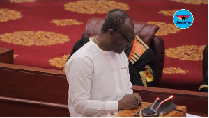 Finance Minister Ken Ofori Atta 2018 Budget