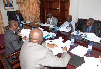 Economic team Mahama