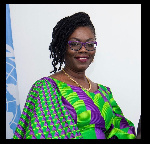The Minister for Communications and Digitalization, Mrs. Ursula Owusu-Ekuful