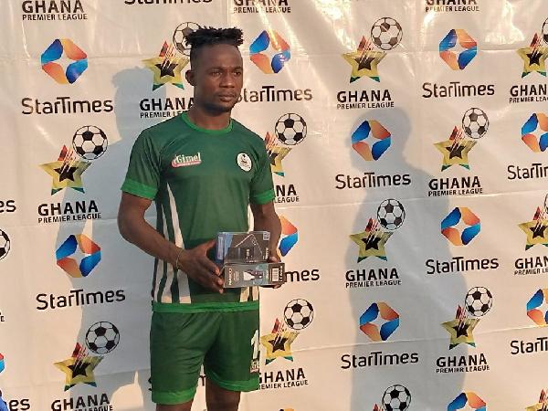 King Faisal striker Kwame Peprah bags MOTM against Dreams FC