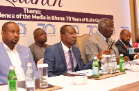 Former President John Agyekum Kufuor was speaking at the launch of GJA@70