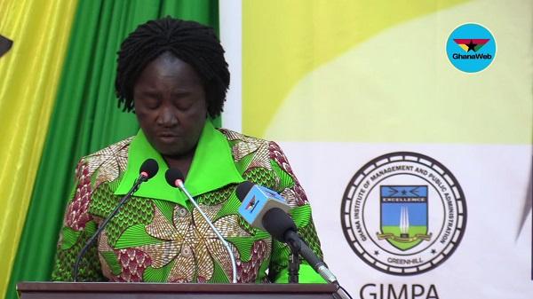 Former Education Minister, Prof. Jane Naana Opoku-Agyemang