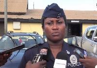 DSP Afia Tenge, Accra Regional Police PRO