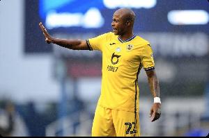 Swansea City attacker Andre Ayew