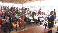 Port health sensitization  programme on coronavirus