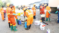 The fumigation is a concerted effort in curbing coronavirus
