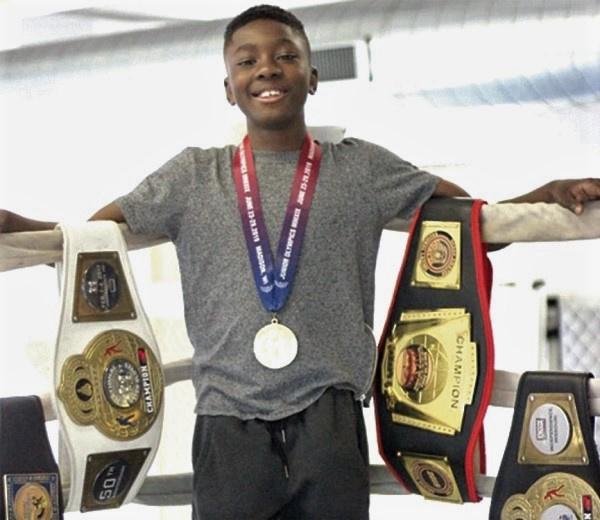 Joseph Awinongya Jnr. is a juvenile boxer