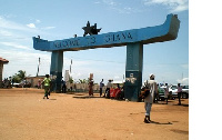 Ghana's land borders were closed on March 22, 2020