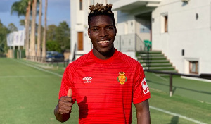 Black Stars defender Lumor Agbenyenu