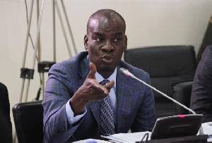 Minority leader in parliament, Haruna Idrisu