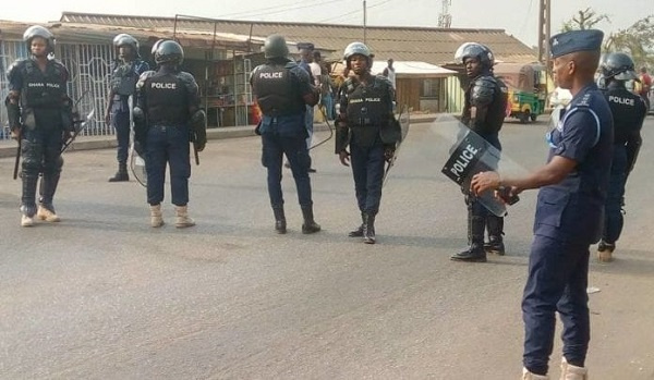 Security tightened in parts of Ghana's capital to curb robbery attacks