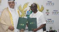 Khalid S. Alkhudairy and Mr. Ken Ofori-Atta