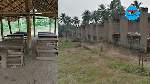 Abandoned 6-unit classroom block at Mbem M/A Basic School affecting academic performance