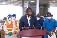 Deputy Health Minister, Dr Bernard Okoe-Boye