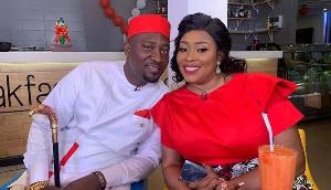 Chief Biney and his wife Maame Afia Akoto