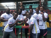 The armwrestling team