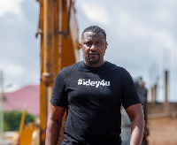 Actor and politician, John Dumelo