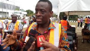 Western Regional Minister, Mr Kwabena Okyere Darko-Mensah