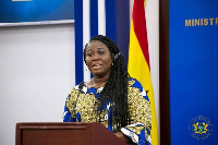 Elizabeth Afoley Quaye, Minister of Fisheries and Aquaculture Development