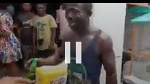 How suspected thief was made to drink chilled beer and desilt gutters in Sekondi-Takoradi