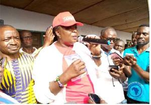Madam Tangoba Abayage, Upper East Regional Minister