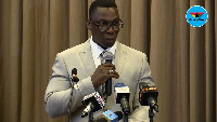 Mr. Justice Ofori, Commissioner of Insurance (NIC)
