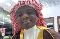 Ibrahim Irbard in Mecca 2019