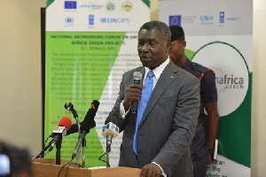 Professor Kwabena Frimpong-Boateng, Minister of Environment, Science, Technology and Innovation