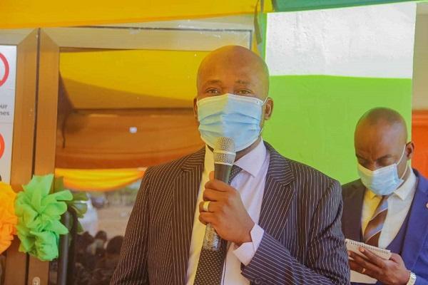 The General Manager of BESSFA Rural Bank, Alhaji Hayatudeen Awudu Ibrahim