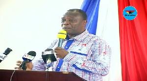 Pro-Vice Chancellor of the University of Cape Coast, Prof. George K. T. Oduro