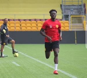 Footballer Abdul Mumin