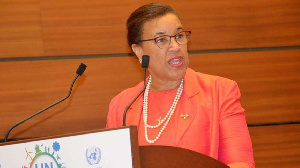 Commonwealth Secretary-General Patricia Scotland. PHOTO | FILE | NATION MEDIA GROUP