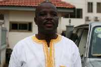 Vice Chairman of the Black Stars Management Committee Osei Parmer