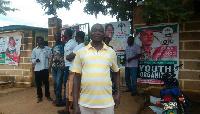 Sylvester Yamba Samari Orondo, aspiring NDC Bolgatanga Central Constituency Chairman