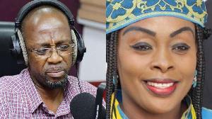 Akosua Agyapong and Rex Omar