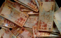 The cedi is currently depreciating against major world currencies