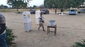 File photo of ballot boxes