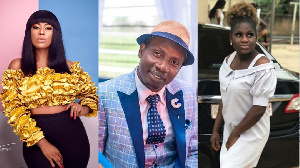TV presenter, Selly Galley, Counselor Lutterodt and Ohenewaa