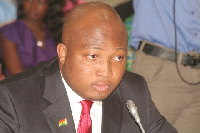 Outgoing Deputy Minister of Education, Samuel Okudzeto Ablakwa