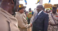 Vice President Mahamudu Bawumia was present as Chair of the Armed Forces Council