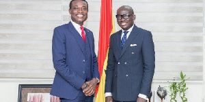 Special Prosecutor, Kissi Agyebeng (L) And Minister For Justice And AG, Godfred Yeboah Dame (R)