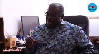 Former Vice-Chancellor of the University, Professor Ernest Aryeetey
