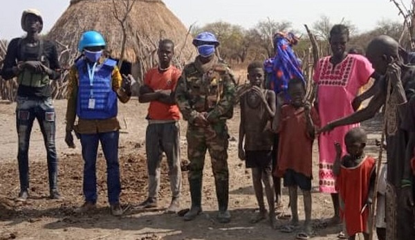 Ghanaian peacekeepers in South Sudan applauded for averting violence