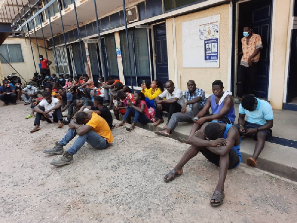 Tema: 105 persons arrested for flouting directives on wearing of nose masks
