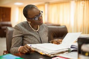 Attorney General, Marrieta Brew Appiah-Oppong
