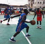 One of the Basketball Leagues in Ghana