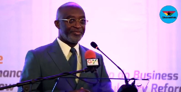 CEO of the Ghana Investment Promotion Centre, Yofi Grant