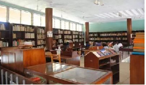 File photo - A Ghanaian library